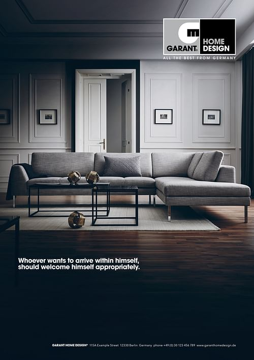 Garant Home Design Corporate Design, Kommunikation - Werbung
