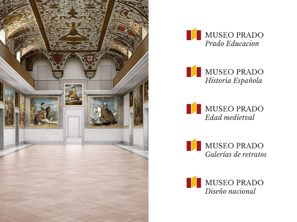 Museo del Prado - Identity Rebrand