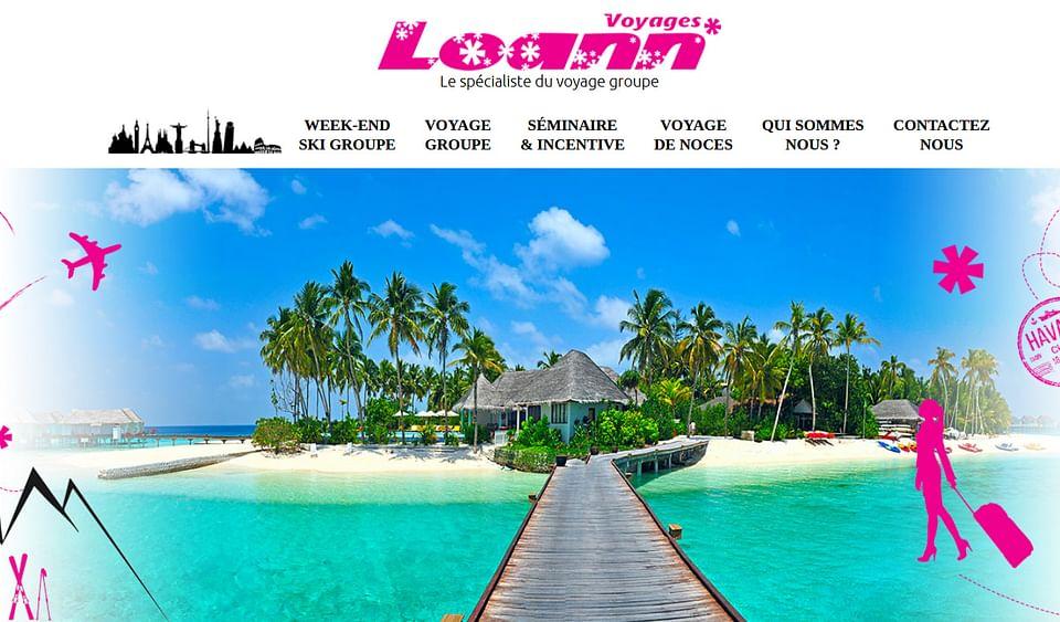 Création d'un site d'agence de voyage