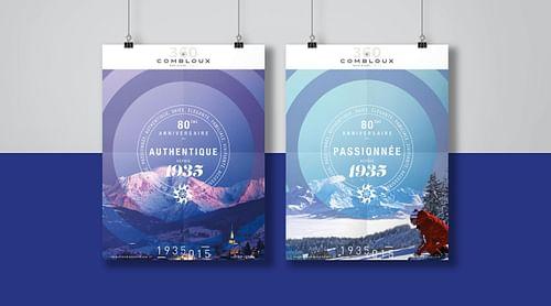 Campagne 360 pour la station de ski Combloux - Image de marque & branding