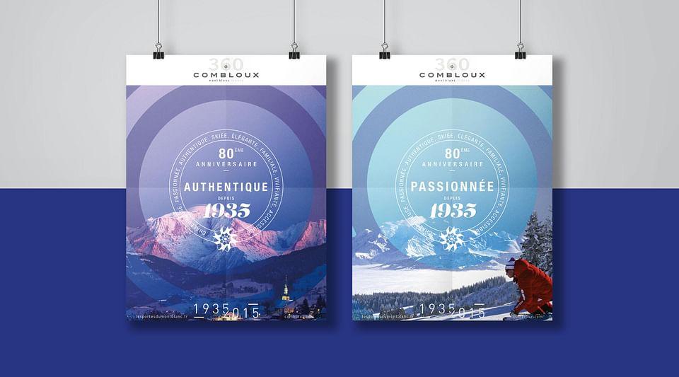 Campagne 360 pour la station de ski Combloux