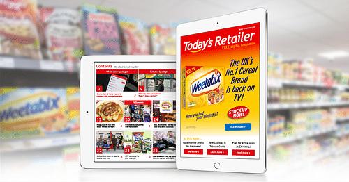 Today's Retailer Magazine https://www.todays.co.uk - Graphic Design