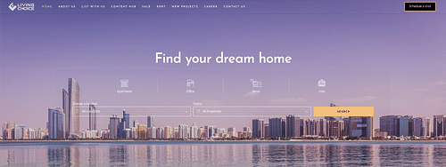 Website for Real Estate Company - SEO