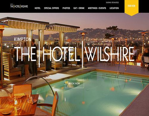 Hotel Wilshire - Stratégie digitale