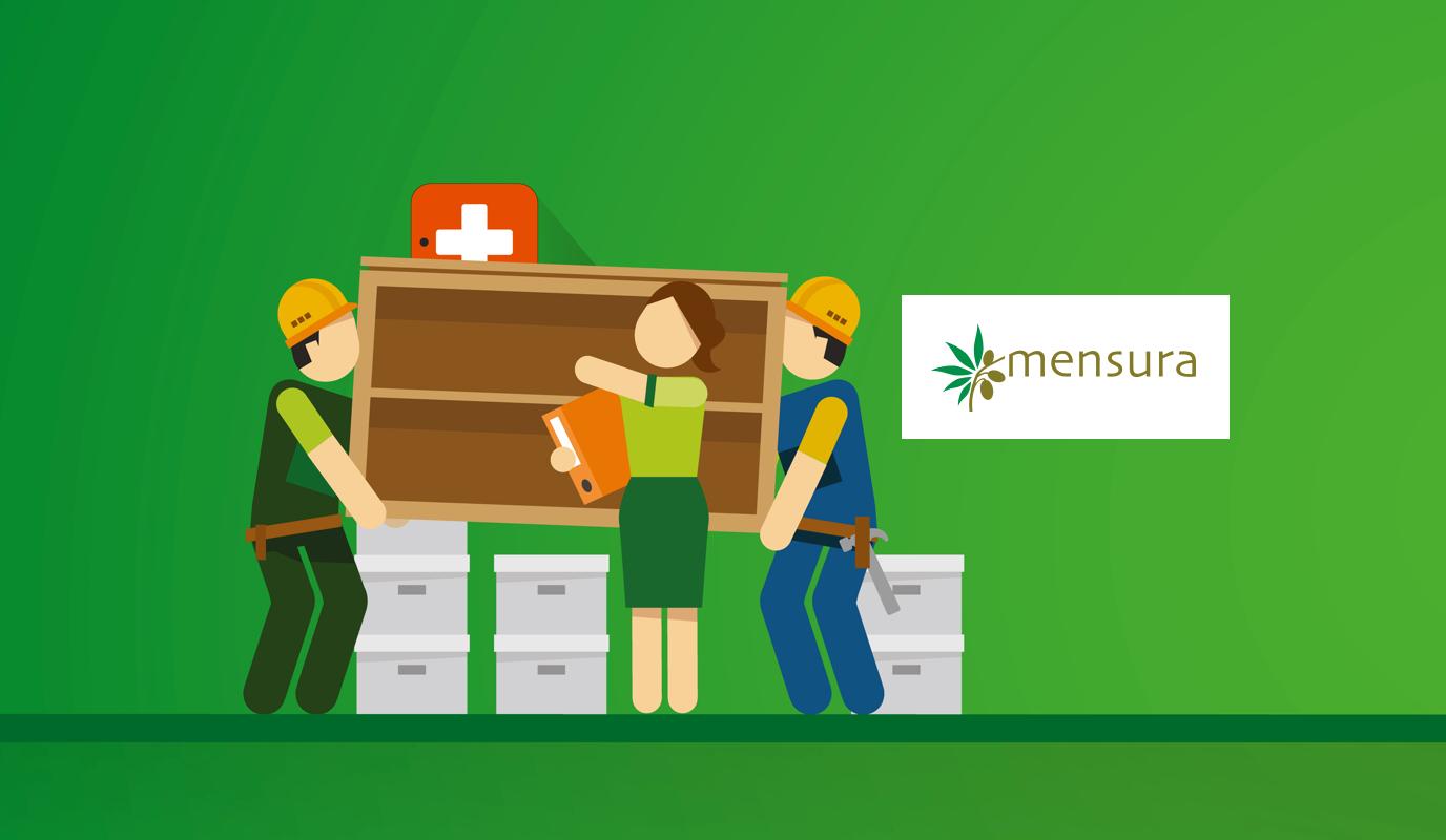 Website Mensura - Website Creatie