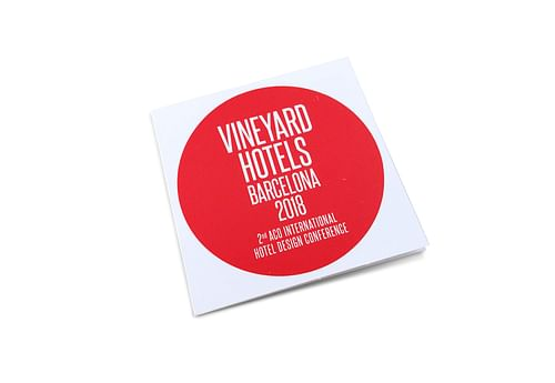 ACO Vineyard Hotels invitación - Diseño Gráfico