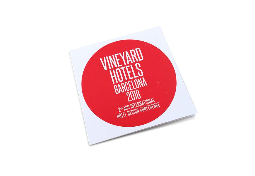 ACO Vineyard Hotels invitación