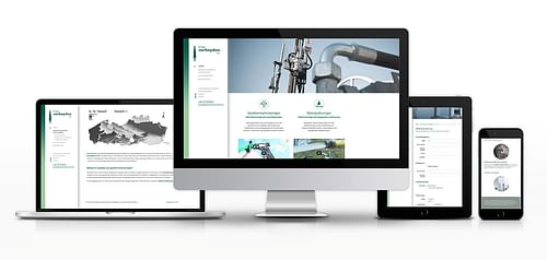Website en huisstijl voor Boringen Verheyden - Website Creatie