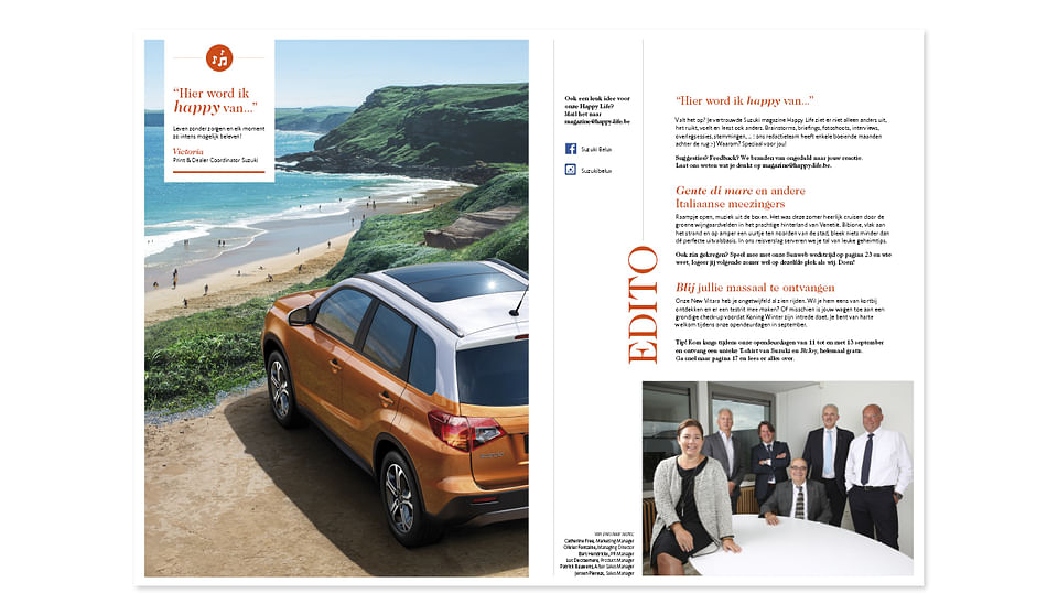 Suzuki: going digital