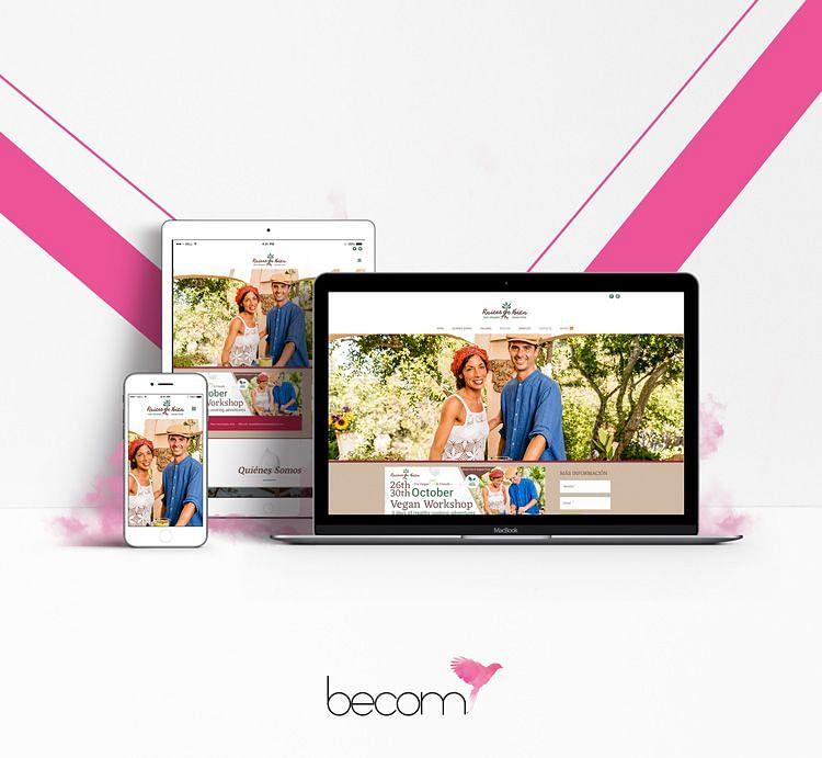 Fotografía profesional y diseño de página web
