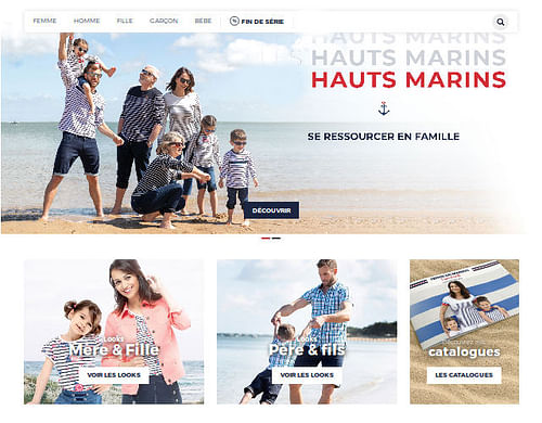 site e-commerce - Application mobile