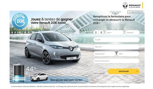 TF1 Digital Factory - Jeu Concours - Design & graphisme