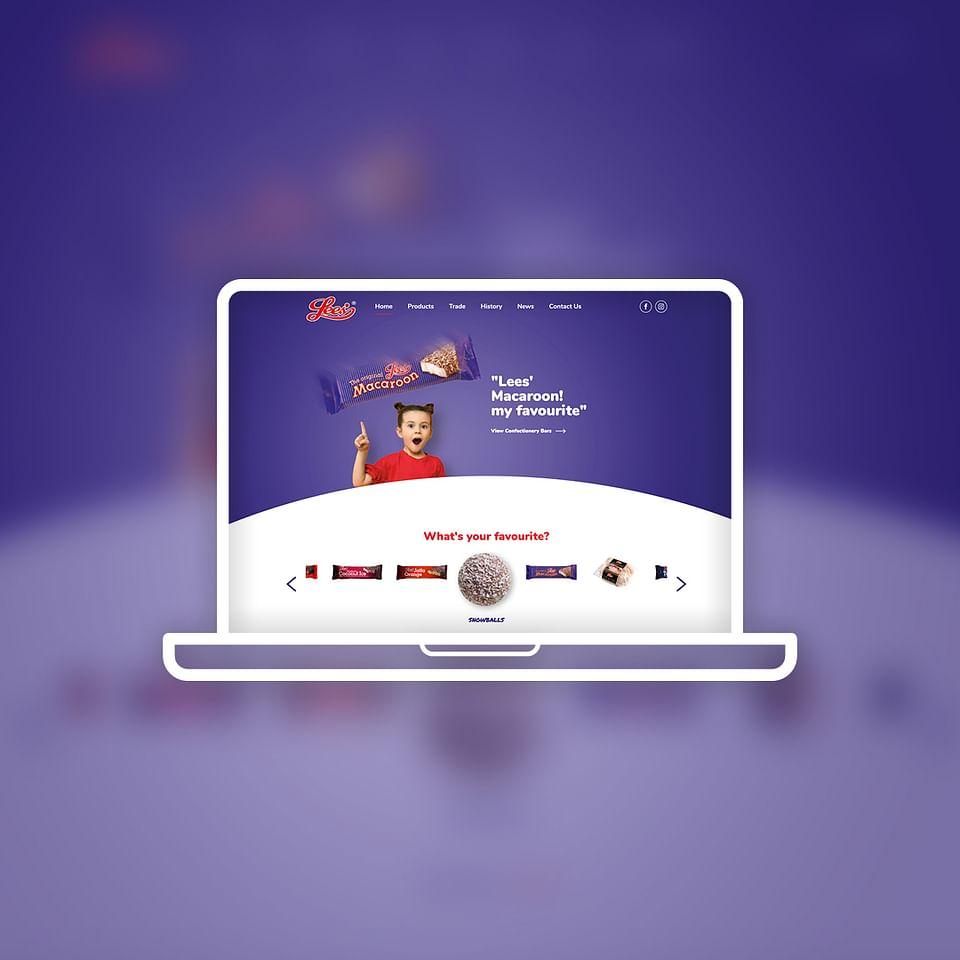 Lees of Scotland Website Design