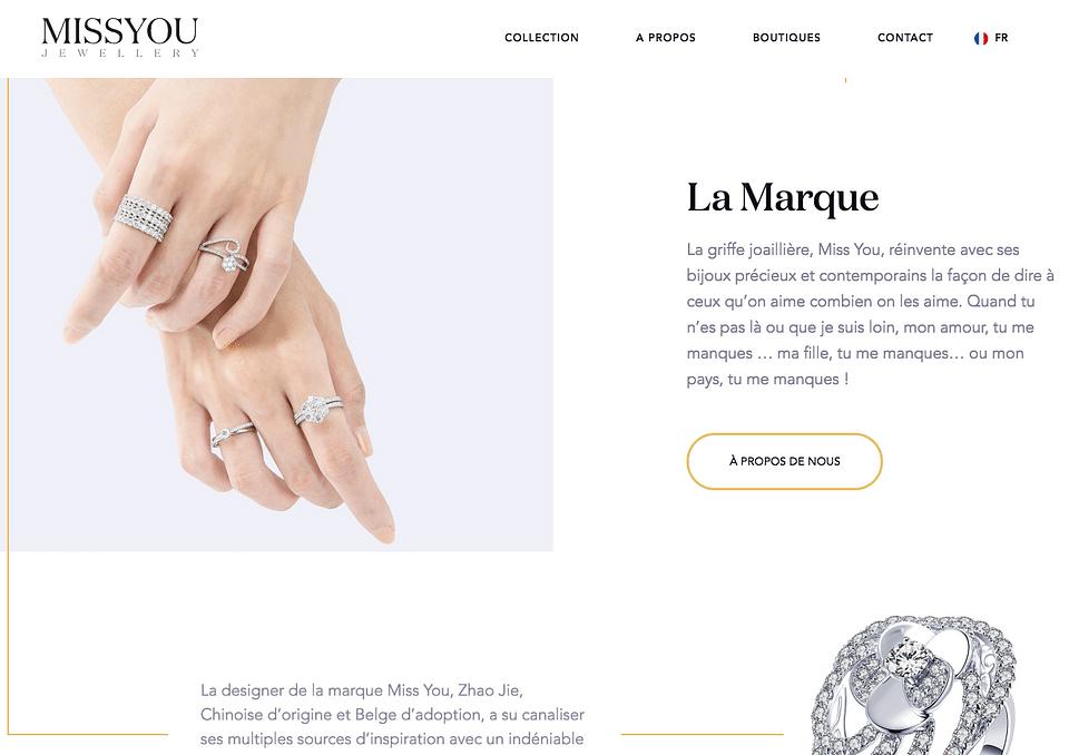 Miss You Luxury Jewelry