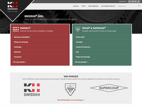 SwissKH - Shop en ligne