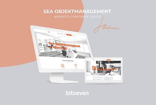 SEA Objektmanagement München - Webseitengestaltung