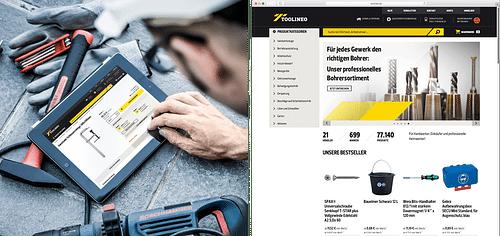 Markenaufbau, CD und Launchkampagne TOOLINEO - Markenbildung & Positionierung