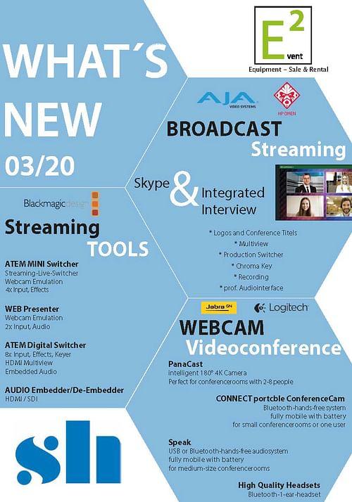 Broadcast streaming - Medienplanung