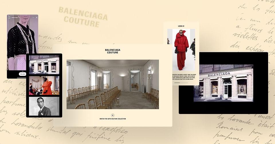 Balenciaga - Défilé Haut Couture