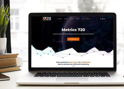 M720 | Identité visuelle & Site internet - Création de site internet