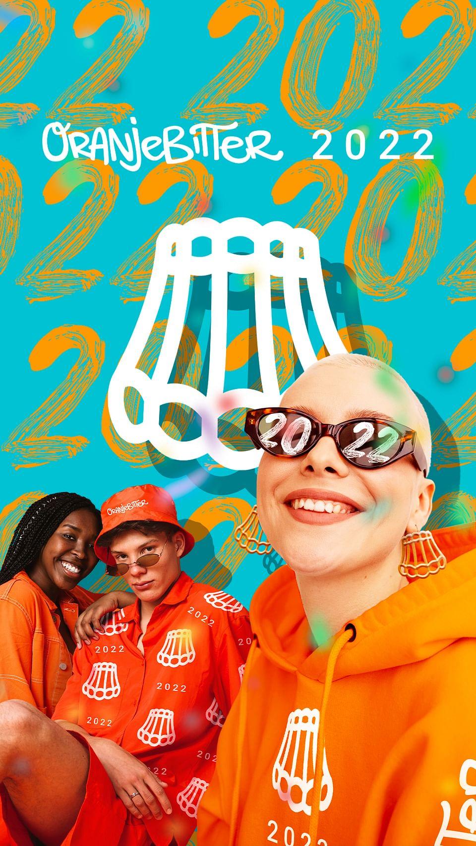 Marketingcampagne voor Oranjebitter Festival