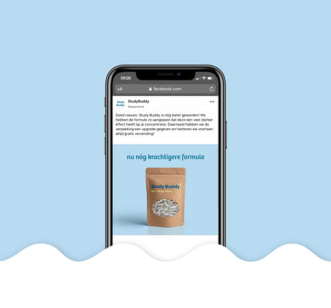 Study Buddy: Facebook ads & Google ads campaign