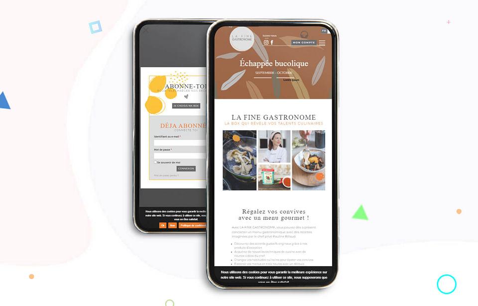 Ecommerce - Création du site La Fine Gastronome