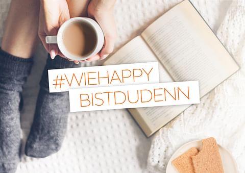 Influencerkampagne #wiehappybistdudenn