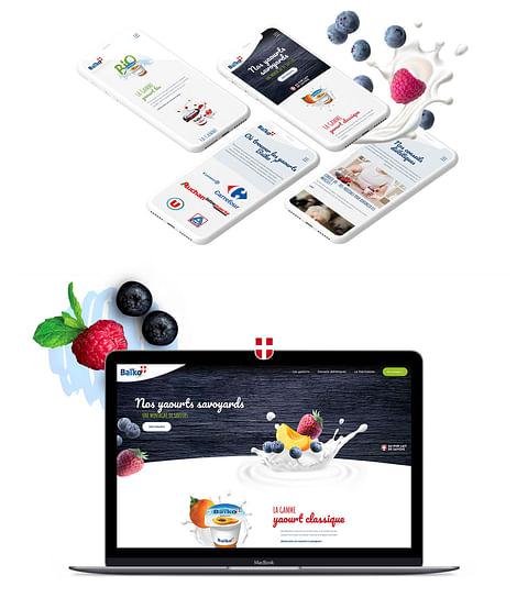 Création du site de la marque Baïko