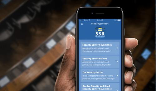 DCAF - Développement d'une application - Application mobile