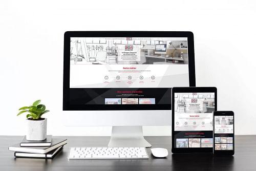Création de site internet - BOA mobilier - Stratégie digitale