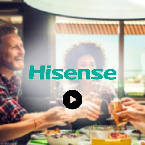 Hisense Spain B2B and Consumer promotions