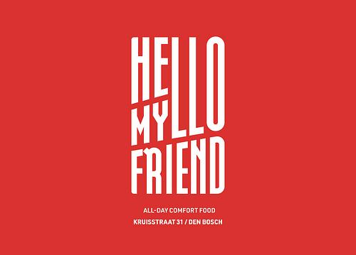 Branding & positionering Hello My Friend - Branding & Positionering