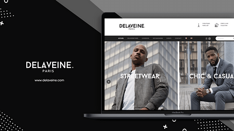 Refonte du site vitrine de Delaveine