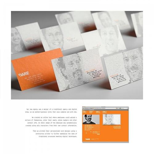 BUSINESS CARDS - Advertising