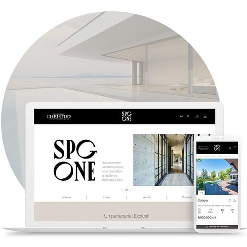 SPG-ONE – Synchronisation des données - Application web