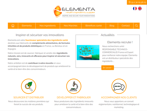 Refonte de site Internet pour améliorer le SEO - Website Creation