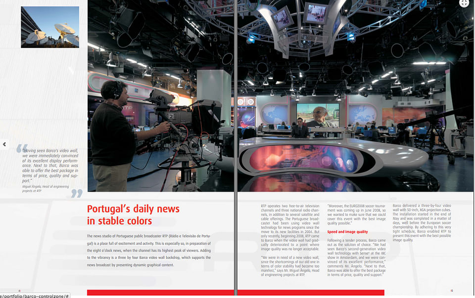 Case study for Barco