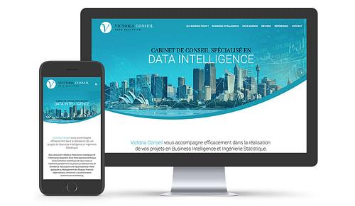 Refonte site Internet Victoria Conseil - Création de site internet