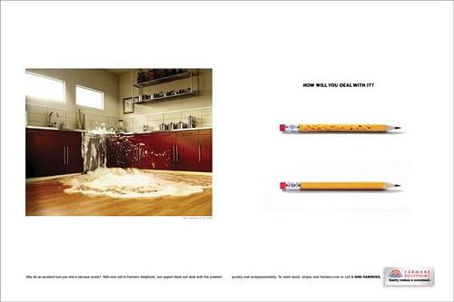 Flooded - Advertising