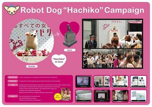 ROBOT DOG HACHIKO - Advertising