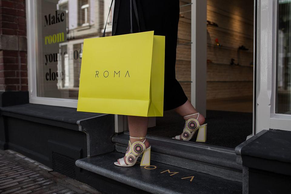 Totaal concept branding Roma