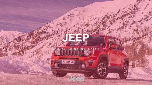 Jeep - Social, Content & Datas - Image de marque & branding