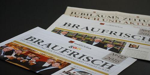 Dinkelacker - Braufrisch für die Region Stuttgart - Öffentlichkeitsarbeit (PR)