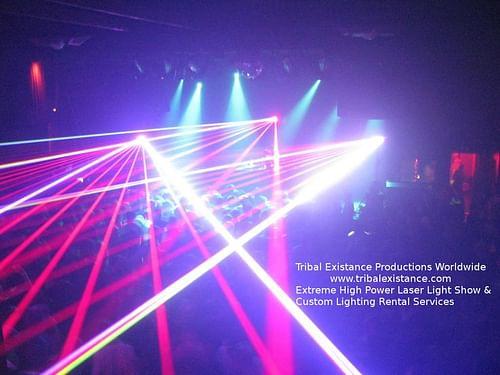 Mimosa Concert Tour - Extreme Laser Show Rental - Advertising