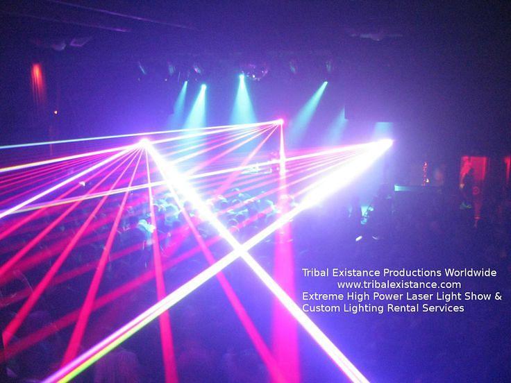 Mimosa Concert Tour - Extreme Laser Show Rental