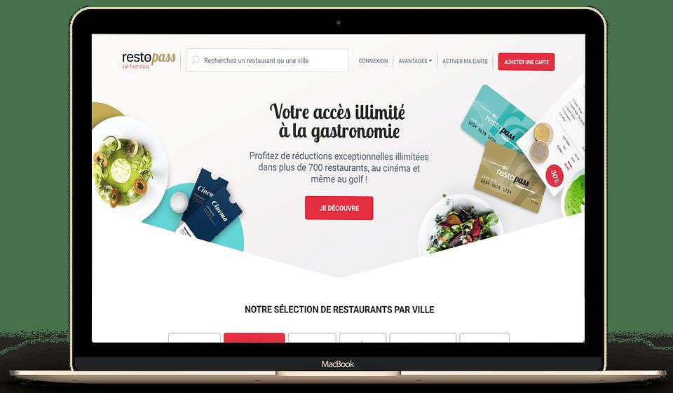 RestoPass : New brand identity
