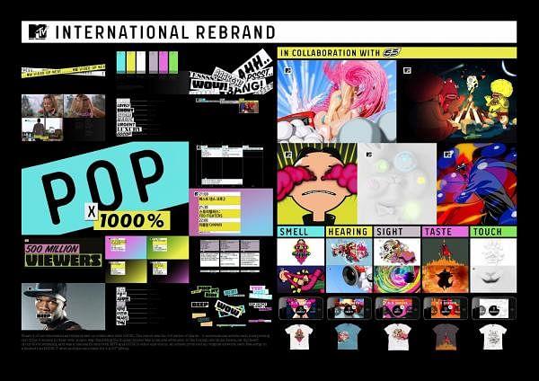 MTV INTERNATIONAL REBRAND