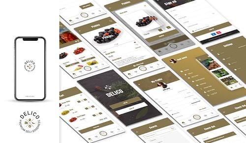 Delico - Mobile App