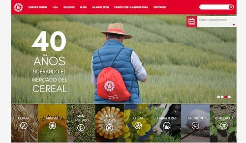 Marketing digital de LG Seeds España - Estrategia digital